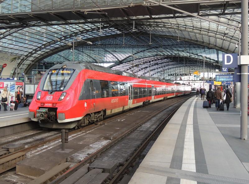 DB-BR 442 in Berlin Hbf