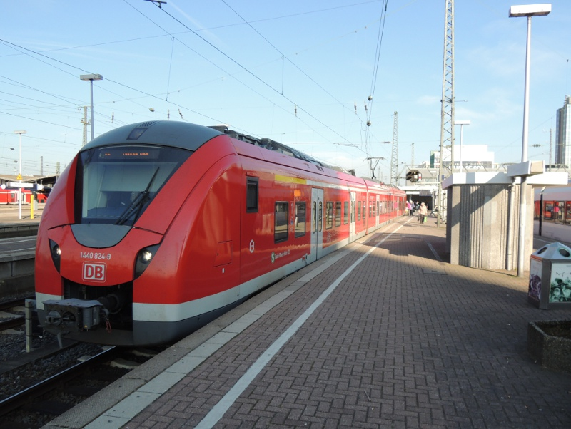 DB-BR 1440 in Dortmund Hbf