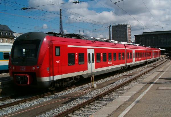 DB-BR 440 in München Hbf