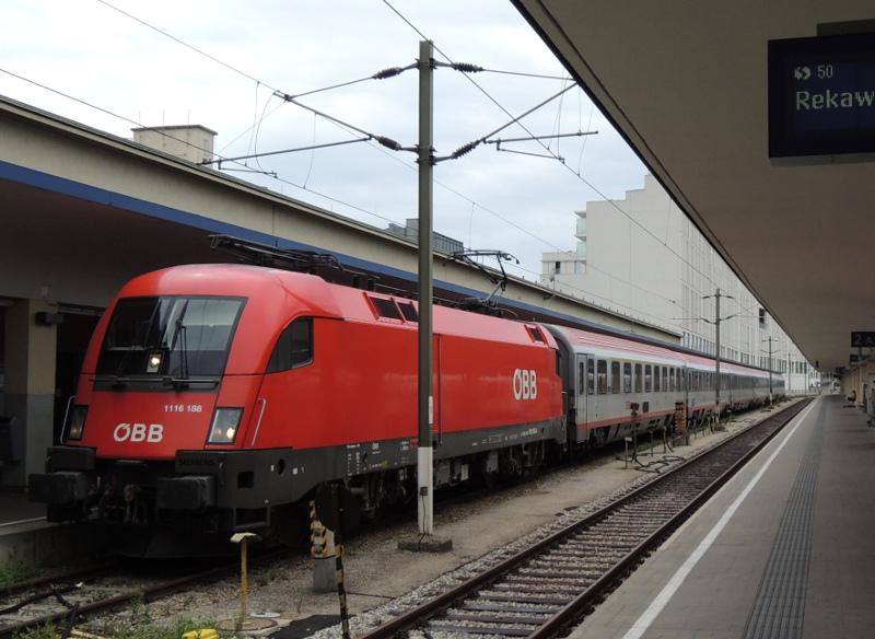 ÖBB-Taurus in Wien Westbahnhof